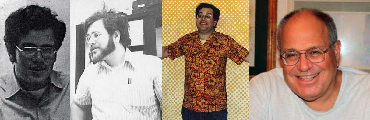 Bob Rozakis through the years.