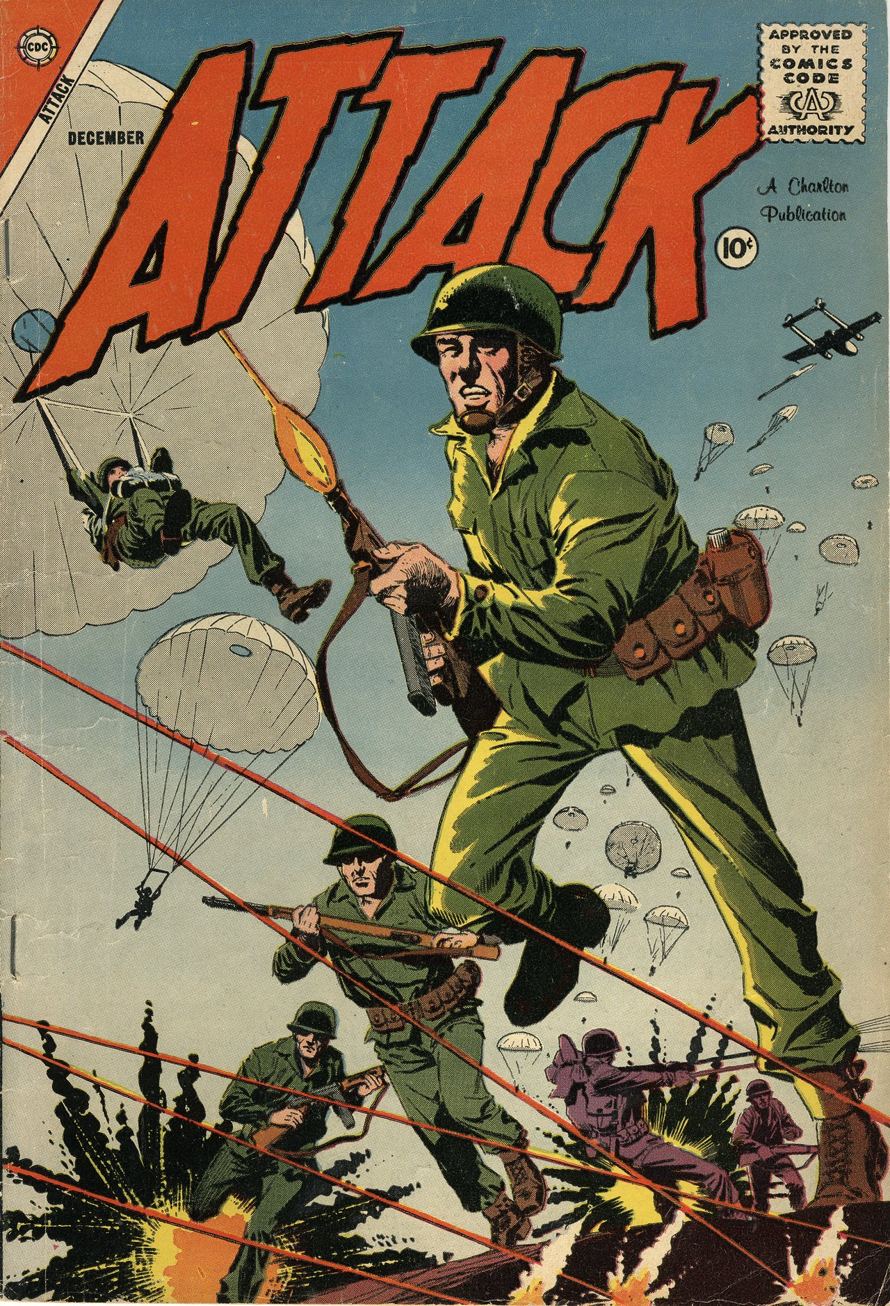 Attack #55, cover by Dick Giordano.