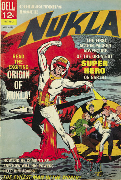 Nukla (1965) #1, cover by Dick Giordano & Sal Trapani.