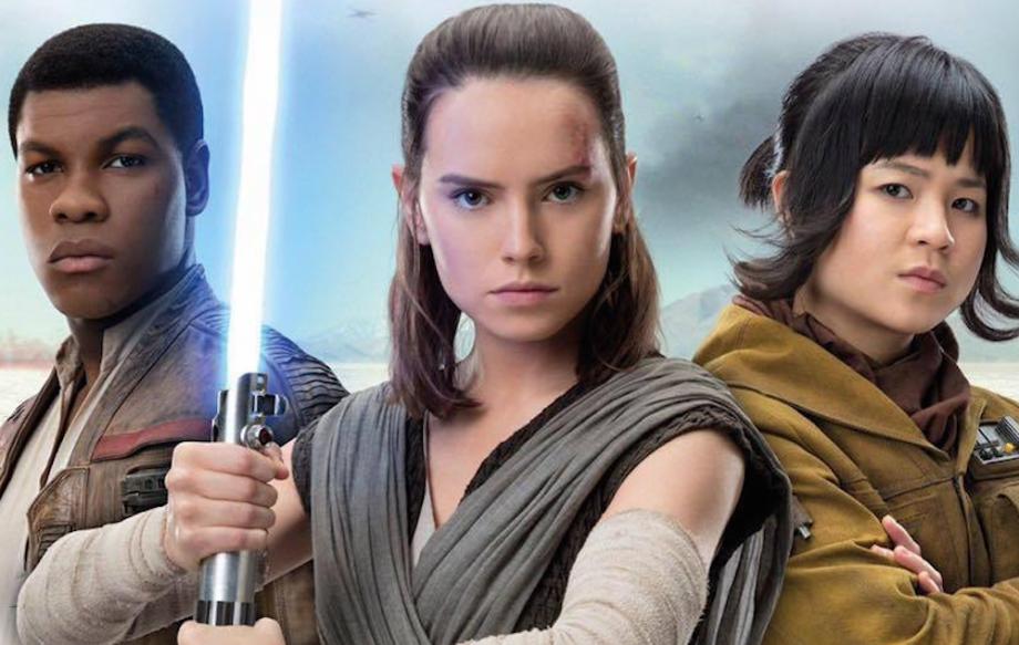 Finn, Rey, & Rose Tico