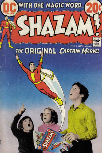 Shazam (1973) #2, written by Denny O'Neil.