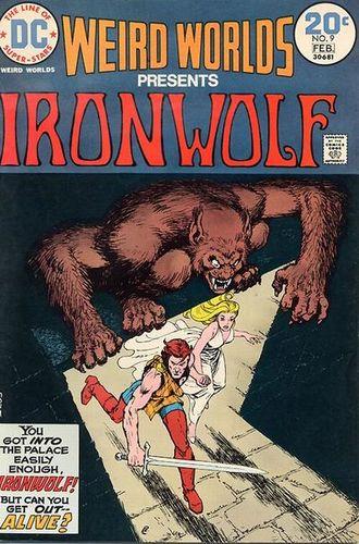 Weird Worlds (1972) #9, written by Denny O'Neil & Howard Chaykin.