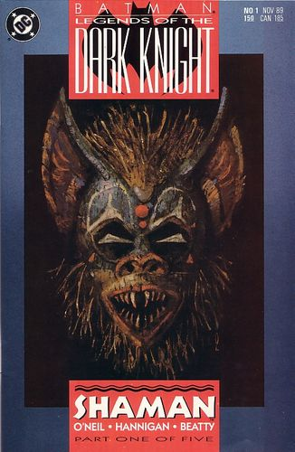 Batman: Legends of the Dark Knight (1989) #1, written by Denny O'Neil.
