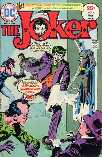 The Joker (1975) #1, written by Denny O'Neil.