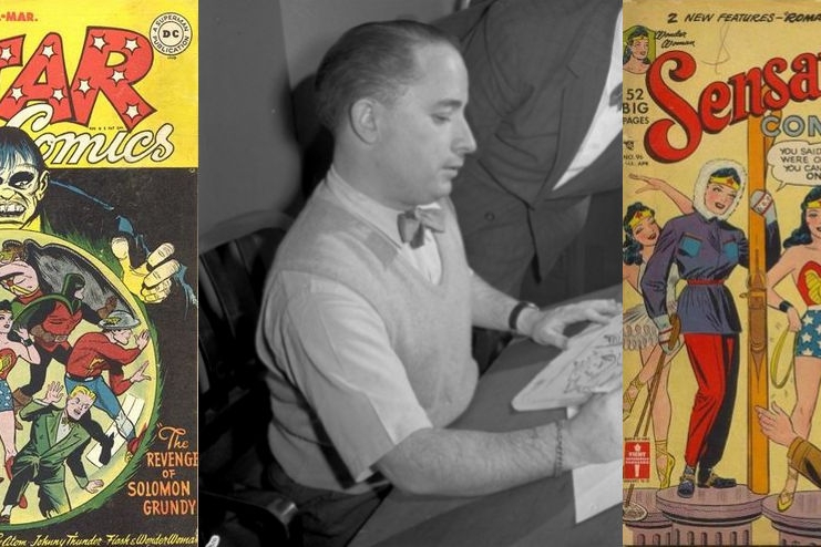 """An Interview With Irwin Hasen - Golden Age Creator of The Wildcat and """"Dondi""""   Written by Bryan Stroud"""
