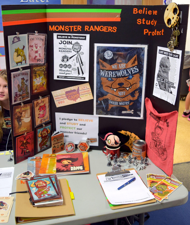 Monster Ranger  info.