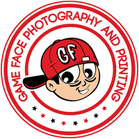 Game Face Photography and Printing