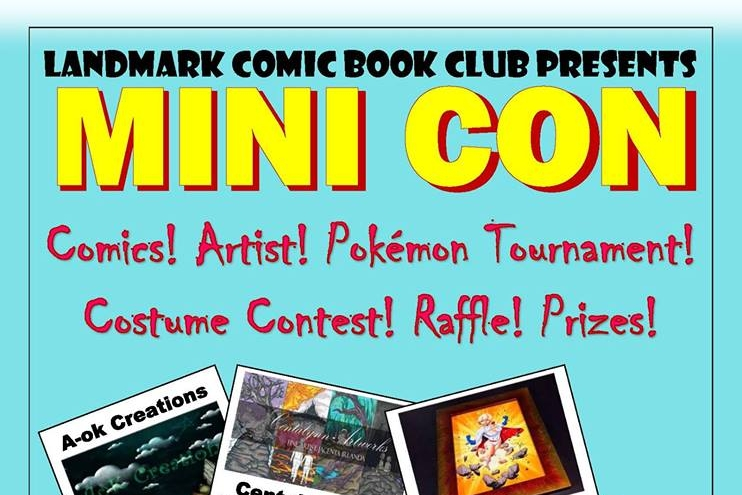 A Walk Around the Landmark Comic Book Club Mini Con 2018   Written by Neil Greenaway