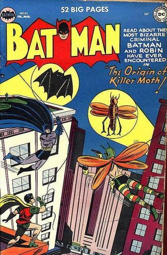 Batman (1940) #63, cover by Lew Sayre Schwartz.