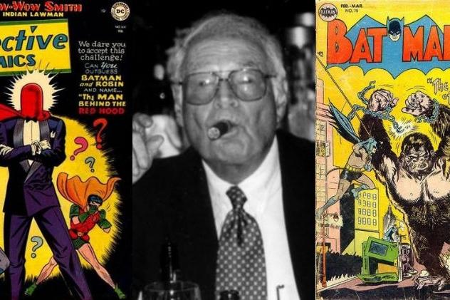 An Interview With Lew Sayre Schwartz - A Golden Age Ghost For Batman   Written by Bryan Stroud