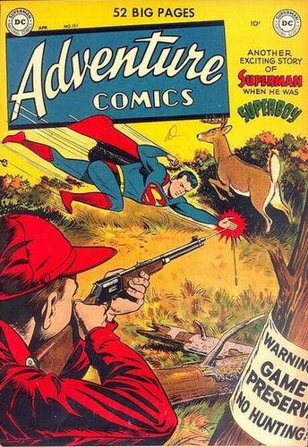 Adventure Comics (1938) #151, cover by Al Plastino.