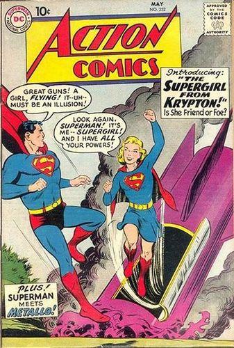 Action Comics (1938) #252, cover by Al Plastino.