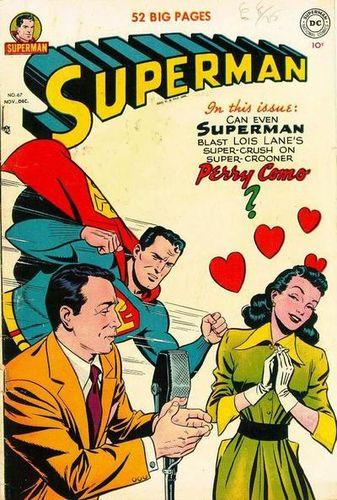 Superman (1939) #67, cover by Al Plastino.