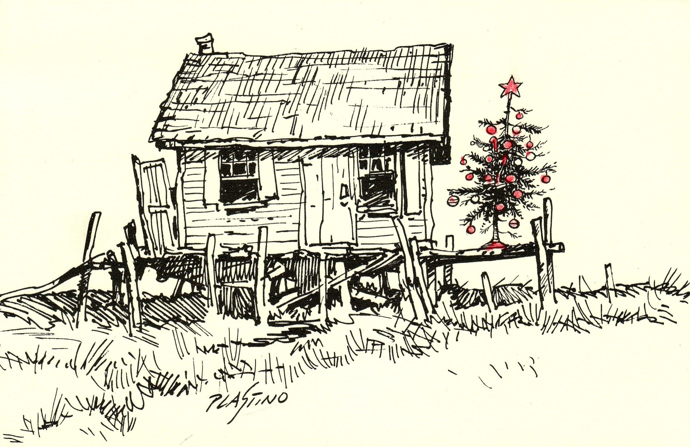 A Christmas card from Al Plastino.