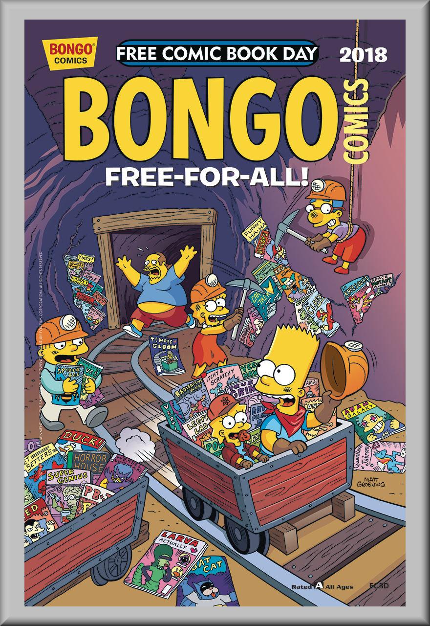 FCBD 2018 Bongo Comics Free-For-All (Bongo)