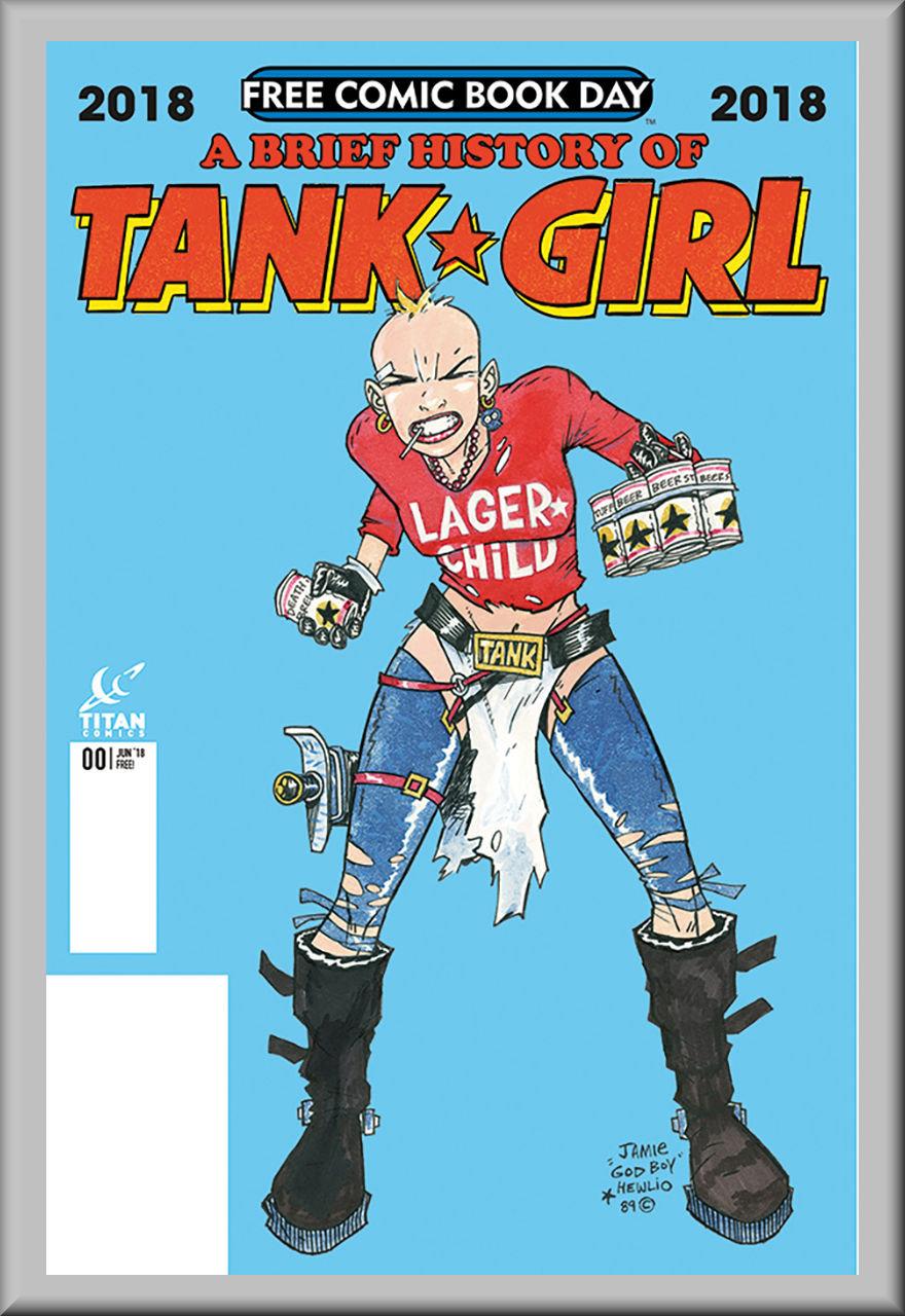 FCBD 2018 Brief History of Tank Girl (Titan Comics)