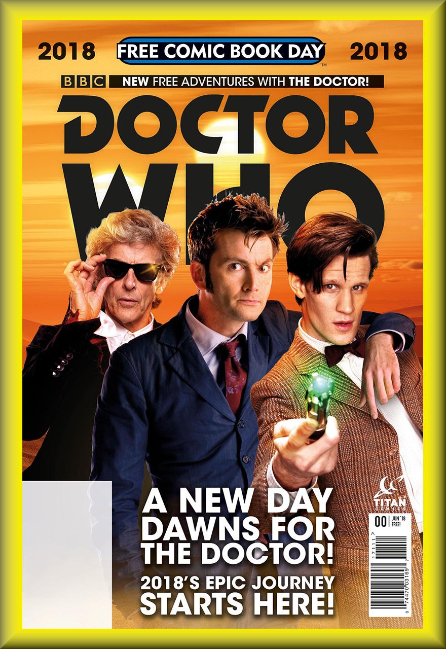 FCBD 2018 Doctor Who #0 (Titan Comics)