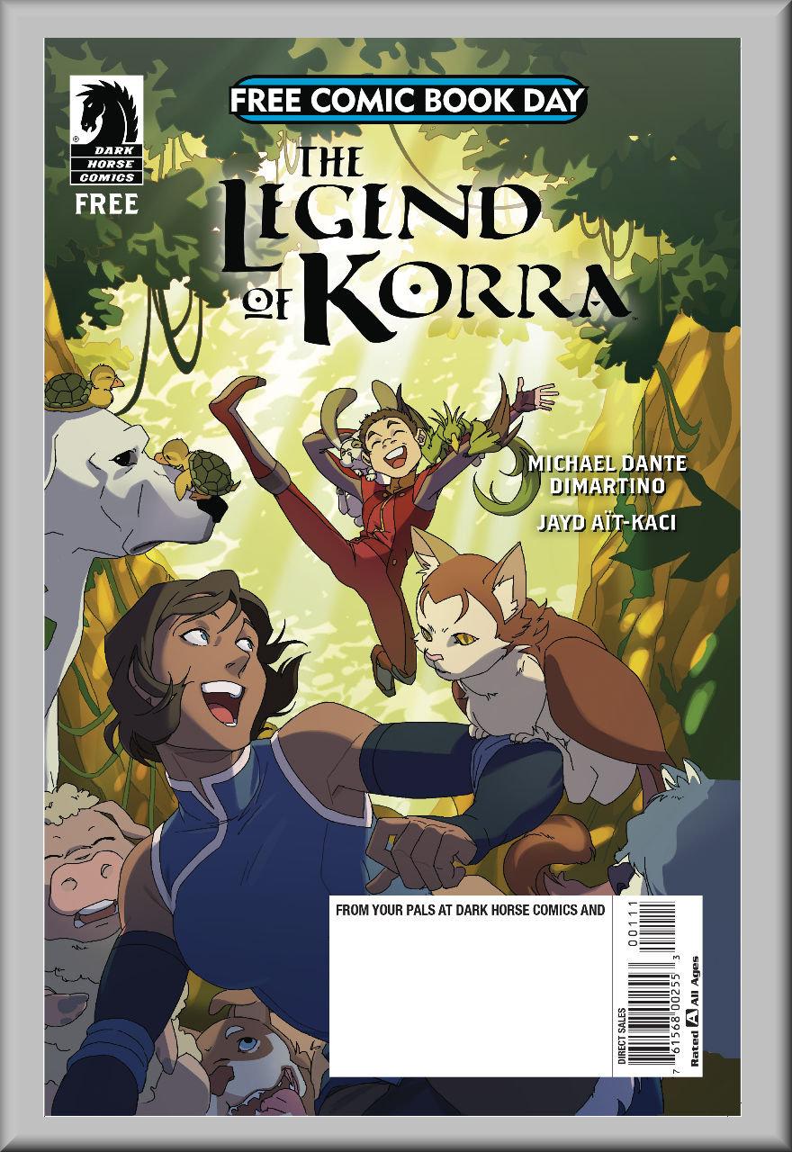 FCBD 2018 Legend of Korra & Nintendo Arms (Dark Horse)