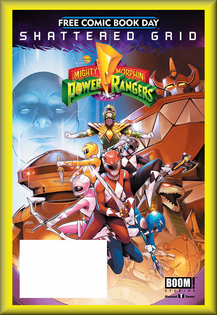FCBD 2018 BOOM Mighty Morphin' Power Ranger Special (BOOM!)