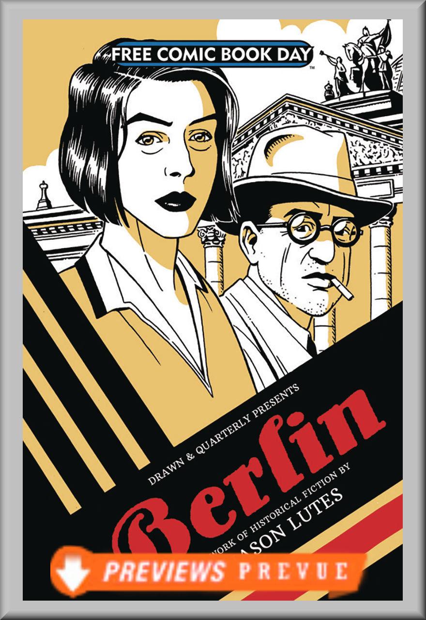 FCBD 2018 Berlin by Jason Lutes (Drawn & Quarterly)