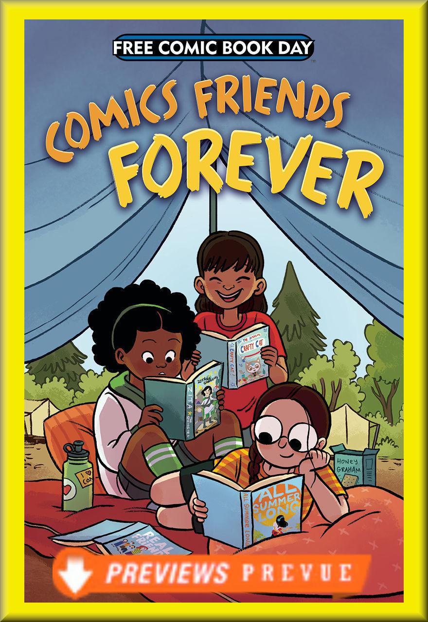 FCBD 2018 Comics Friends Forever (First Second)