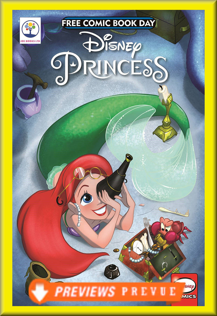 FCBD 2018 Disney Princess Ariel Spotlight (Joe Books LTD)