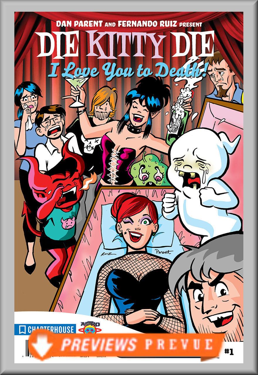 FCBD 2018 Die Kitty Die: I Love You To Death (Chapterhouse)