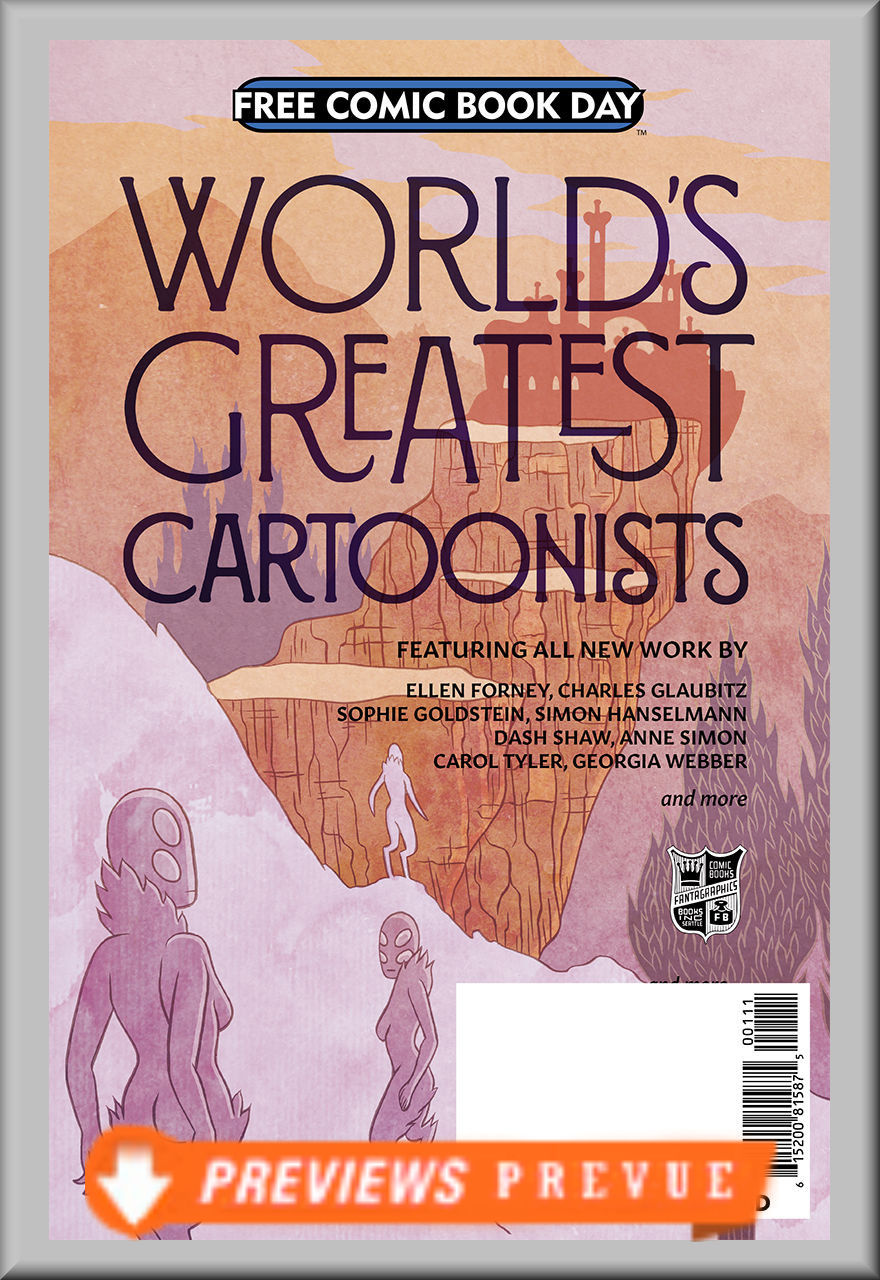 FCBD 2018 Worlds Greatest Cartoonists (Fantagraphics)
