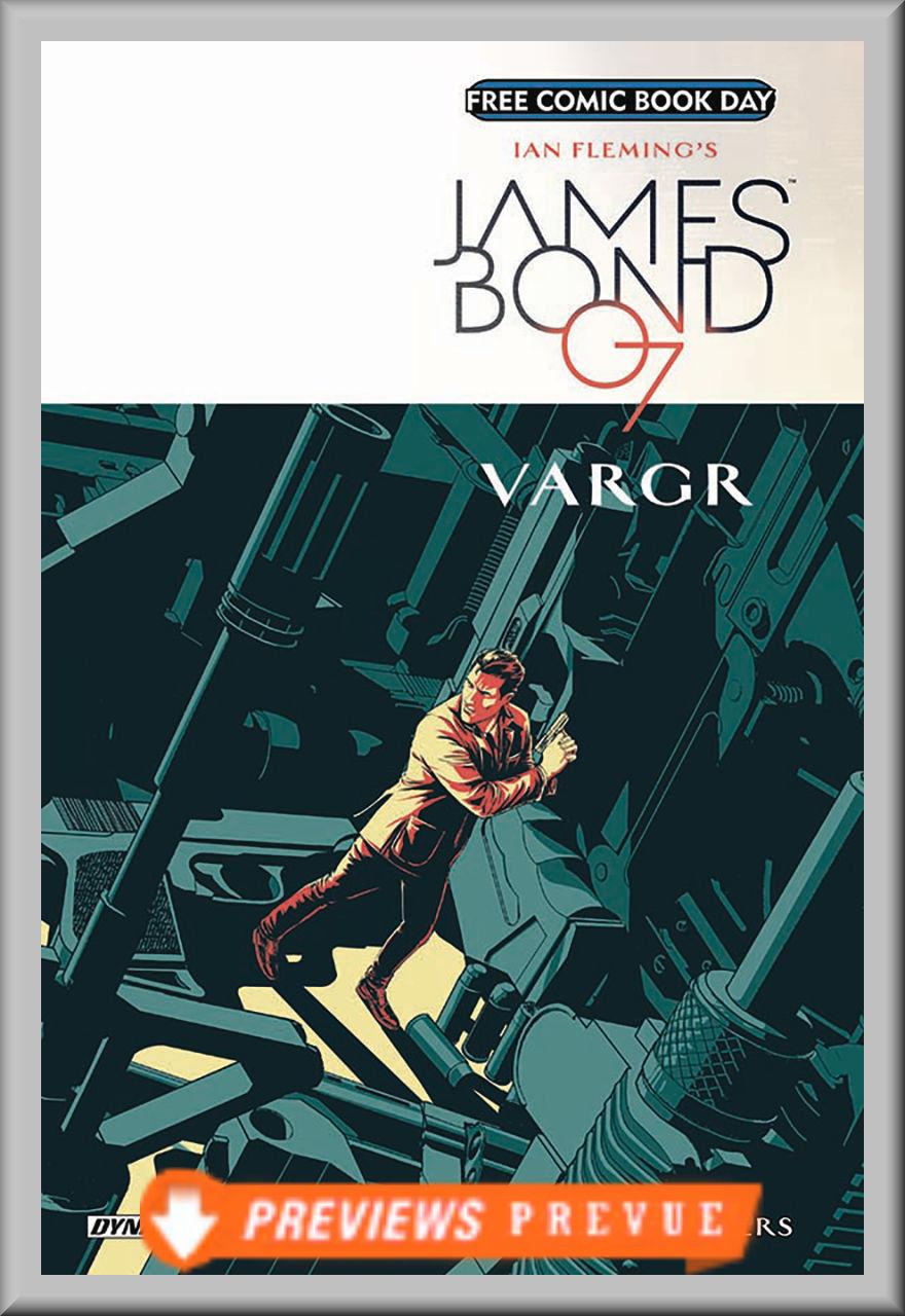FCBD 2018 James Bond: Vargar (Dynamite)