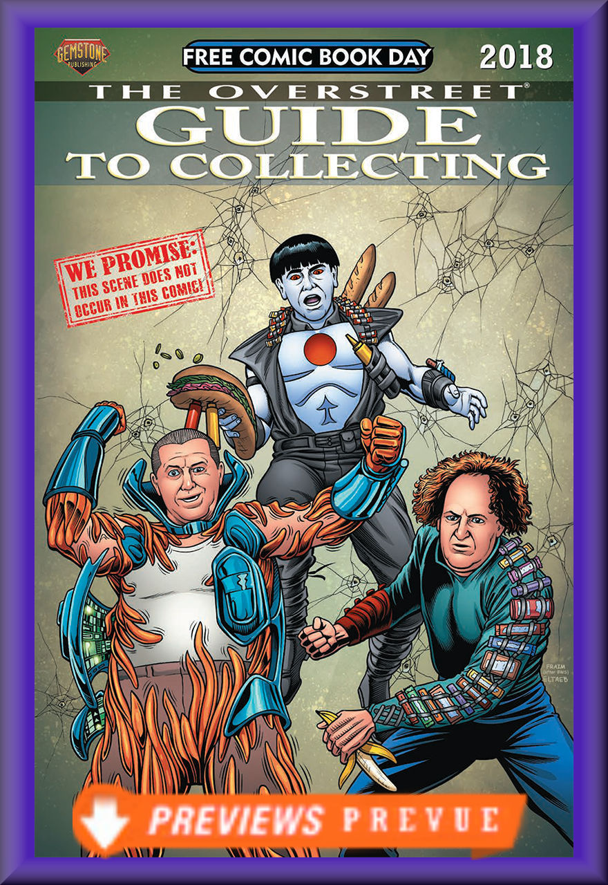 FCBD 2018 Overstreet Guide To Collecting (Gemstone)