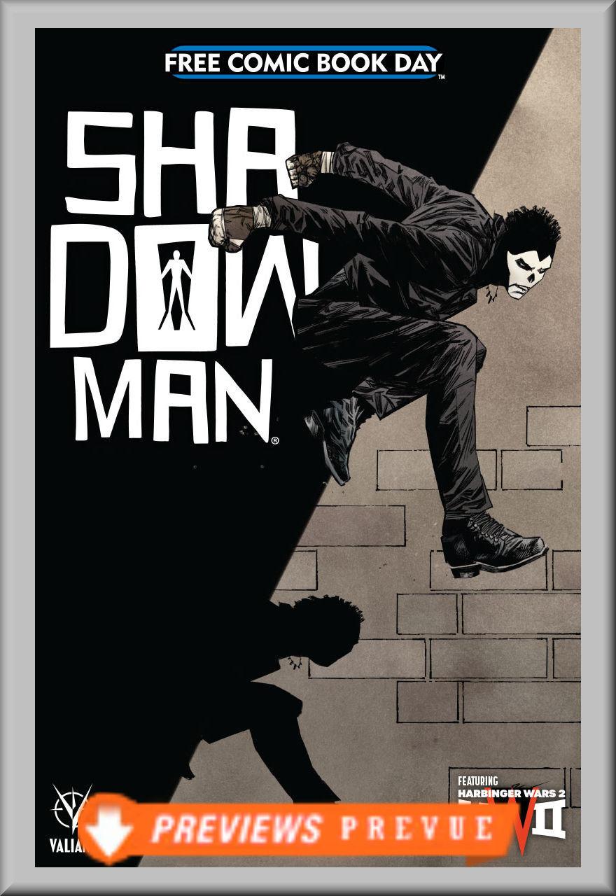 FCBD 2018 Shadowman Special (Valiant)