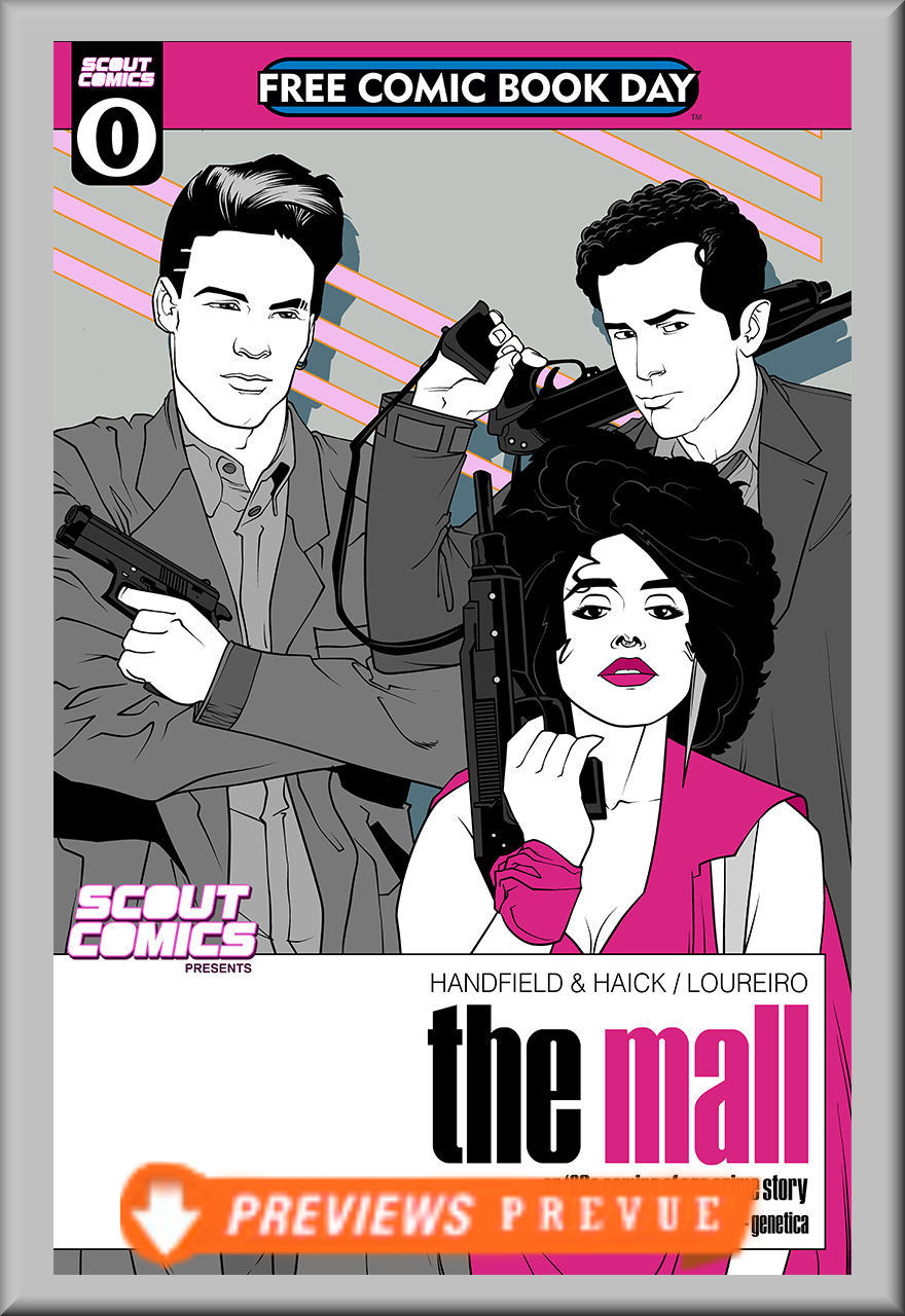 FCBD 2018 Scout Comics Presents: The Mall (Scout Comics)