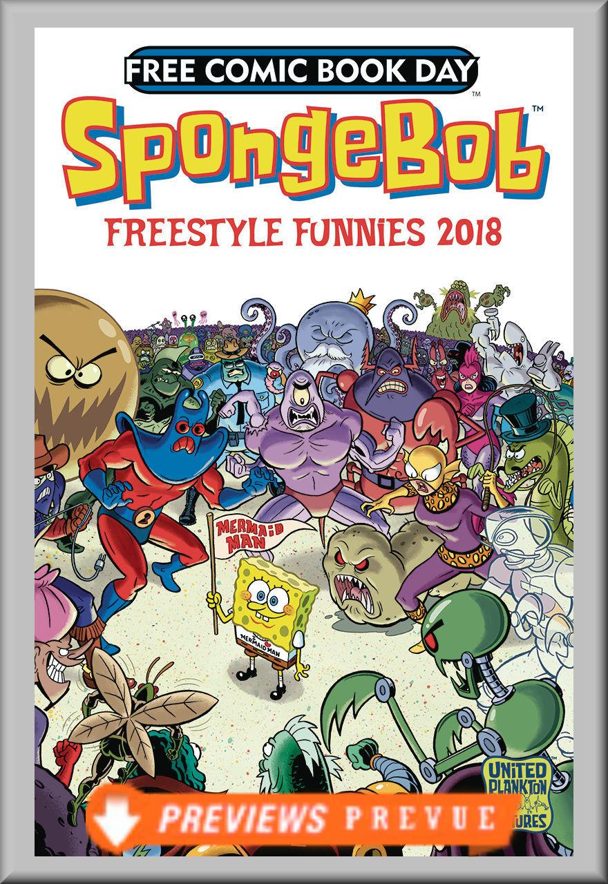FCBD 2018 SpongeBob Freestyle Funnies (United Plankton Pictures)