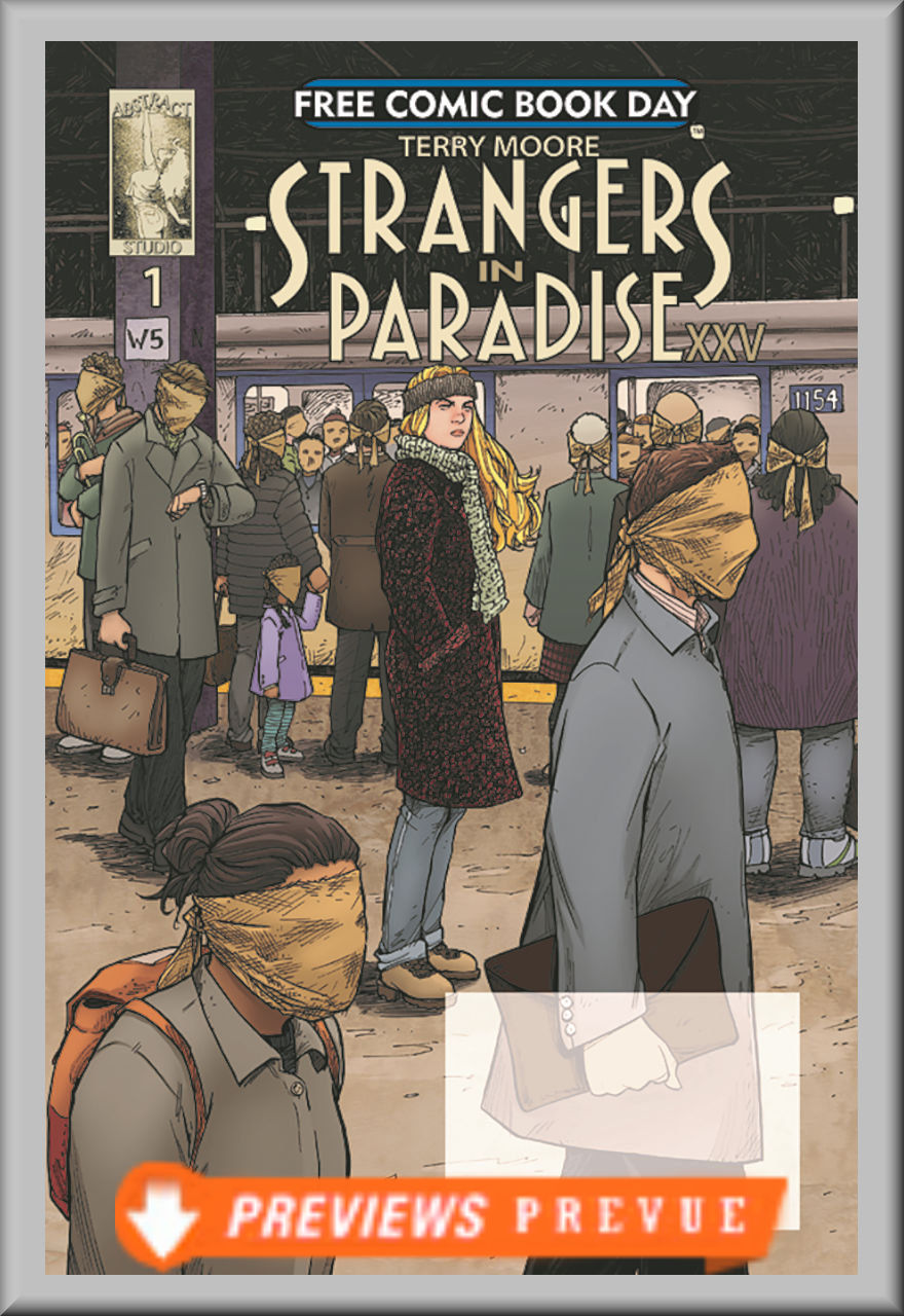 FCBD 2018 Strangers In Paradise XXV #1 (Abstract Studio)