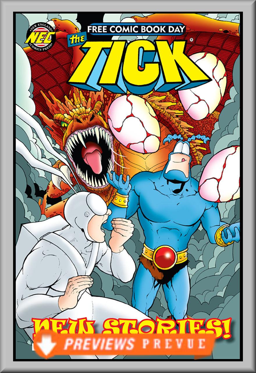 FCBD 2018 Tick 2018 Free Comic Book Day (NEC)
