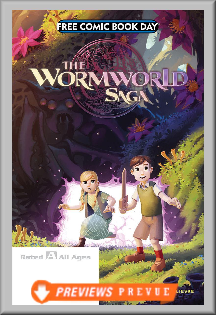 FCBD 2018 Worm World Saga (Lion Forge)