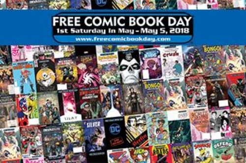 Free Comic Book Day 2018 - Full List Of Titles With Covers and Previews   Written by Neil Greenaway