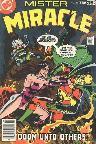 Mr. Miracle (1971) #25, cover by Russ Heath.