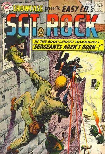 Showcase (1956) #45, cover by Russ Heath.