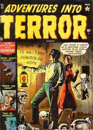 Adventures Into Terror (1950) #11, cover by Russ Heath.