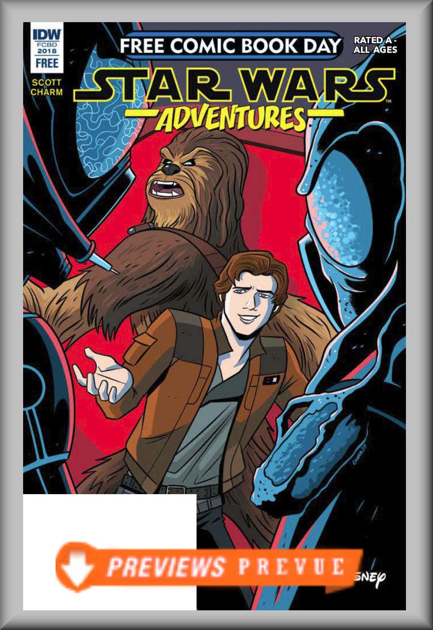 FCBD 2018 Star Wars Adventures (IDW)