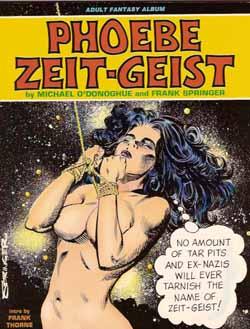 Phoebe Zeit-Geist softcover, art by Frank Springer.