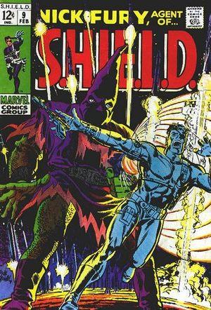 Nick Fury, Agent of S.H.I.E.L.D. (1968) #8, cover by Frank Springer.