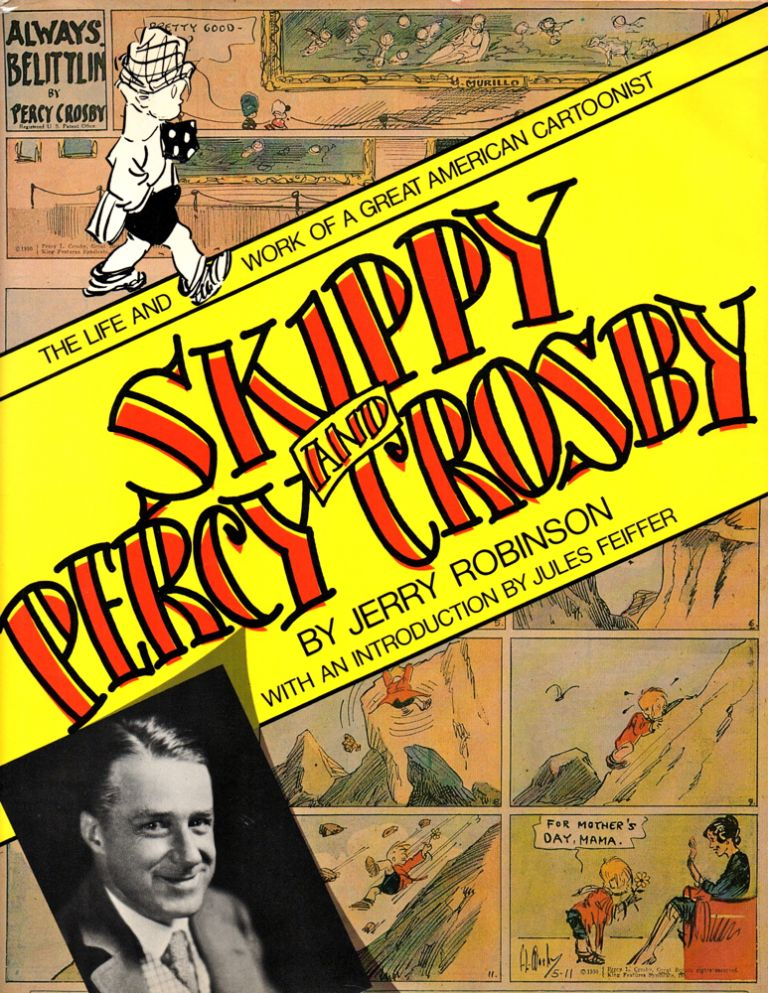 Skippy and Percy Crosby by Jerry Robinson.
