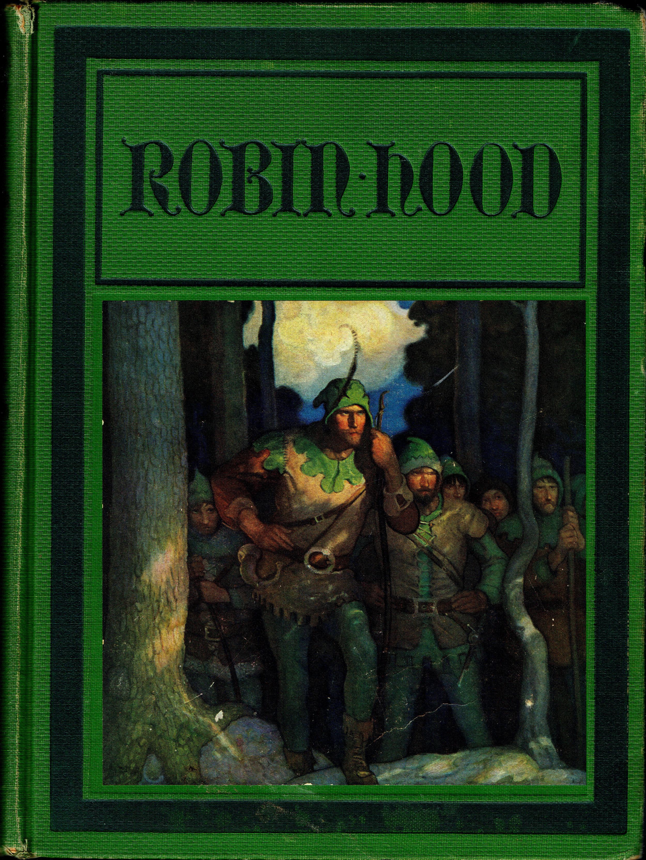 Robin Hood (1917) by Paul Creswick & NC Wyeth