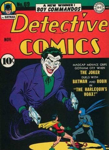Detective Comics (1937) #67, cover by Jerry Robinson.