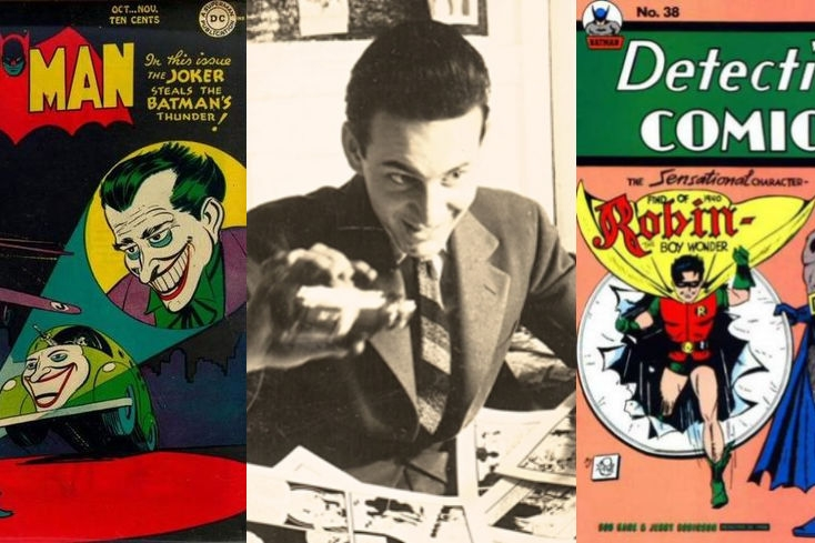 An Interview With Jerry Robinson - The Creator of The Joker   Written by Bryan Stroud
