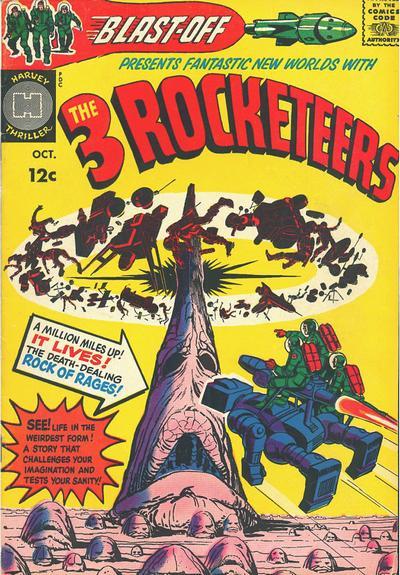 Blast Off (1965) #1, cover by Joe Simon.