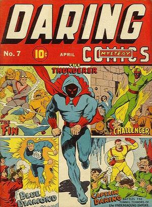 Daring Mystery Comics (1941) #7, cover by Joe Simon.