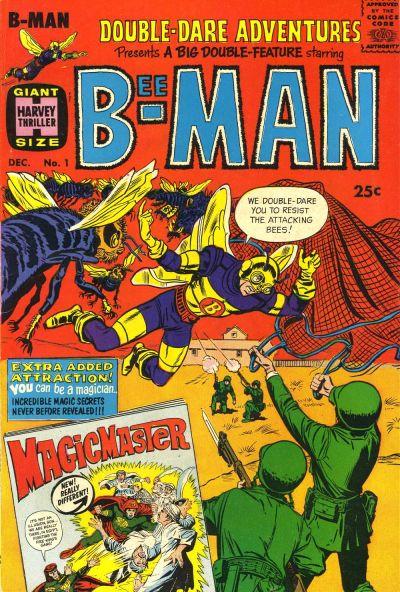 Double-Dare Adventures (1966) #1, cover by Joe Simon.